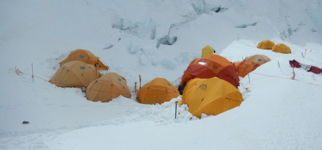 Geduld ist gefragt am Mount Everest