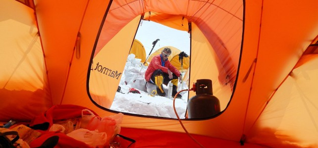 Extremes Wetter am Everest