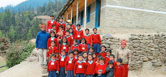 Schulprojekt in Tapting, Nepal