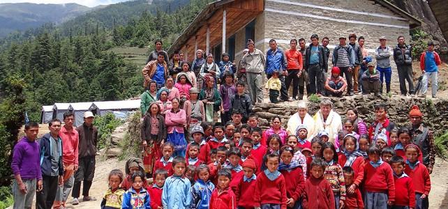 Dankesbriefe aus Nepal