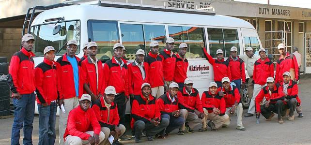 Saisonstart am Kilimanjaro