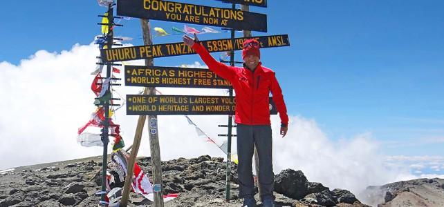 Hansruedi Büchi 50 Mal auf dem Kilimanjaro