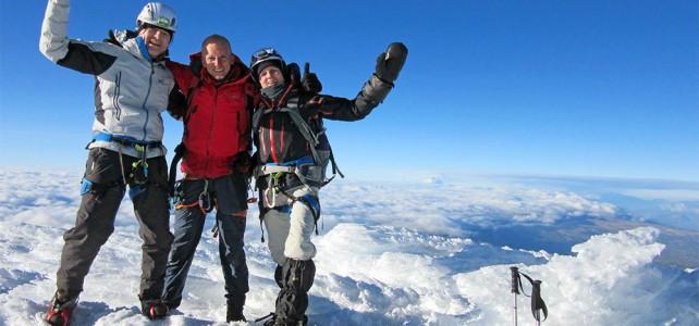 Besteigung des 5790 m hohen Cayambe mit Karl