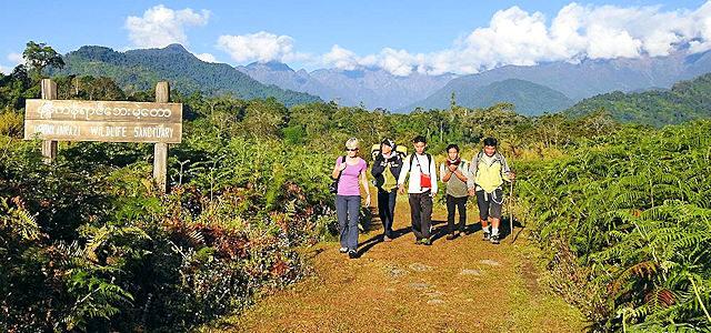 Pionier Trekking Myanmar
