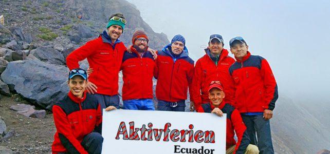 Auf Kurzbesuch in Ecuador