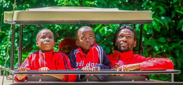 Kindersafari in Tanzania