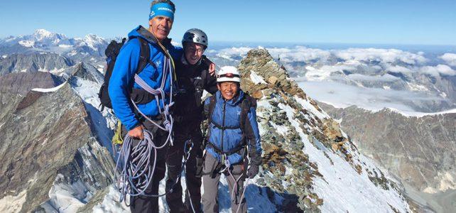 Te Kumar Sherpa in der Schweiz