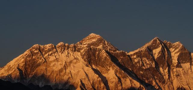 Beni Büchi auf dem Everest Komfort Trekking