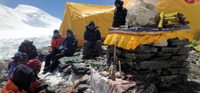 Vorbereitungen zur Everest Besteigung abgeschlossen