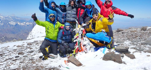 Mit Andreas Scherrer auf dem Aconcagua