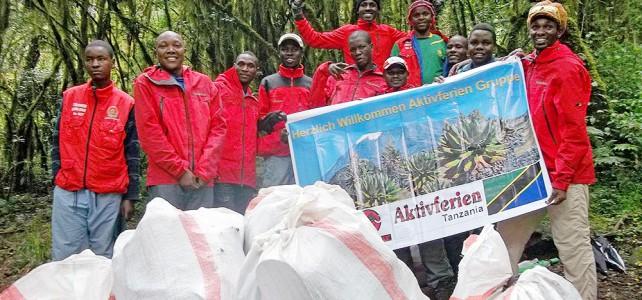 Reinigung des Kilimanjaro