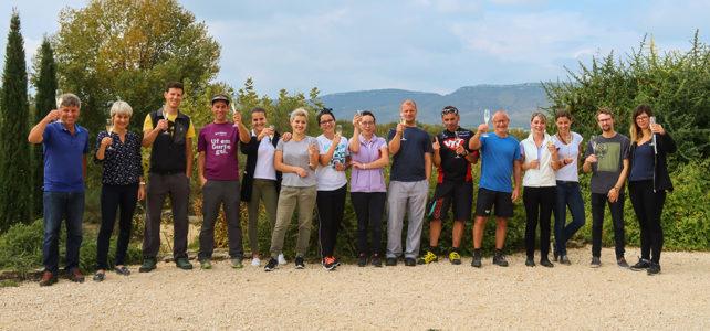 Saisonschluss im Domaine du Frigoulet – das Bike-Hotel in der Ardèche