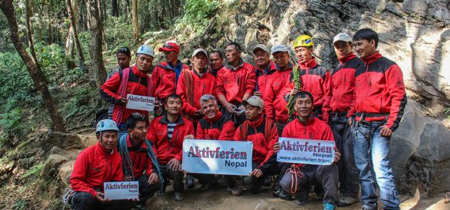 Interne Weiterbildung von Bergführern für Bergführer