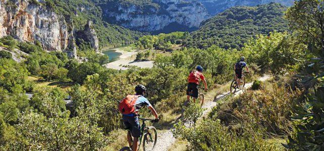 Wie entstand das Bikeparadies Ardèche