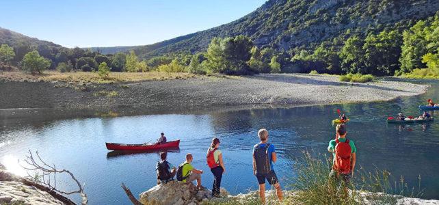 Wandern an der Ardèche