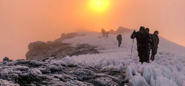 Szenen am Berg