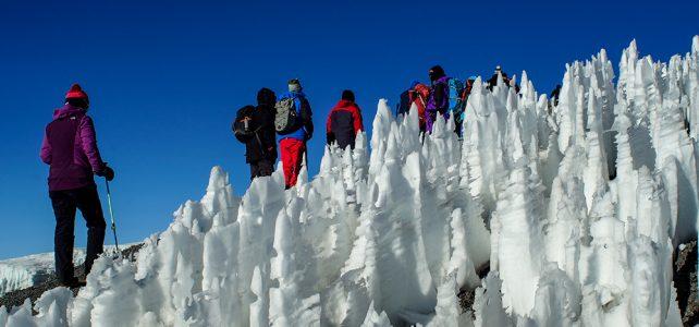 Büssereis am Kilimanjaro
