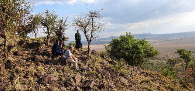 Eine Nacht alleine in der Serengeti