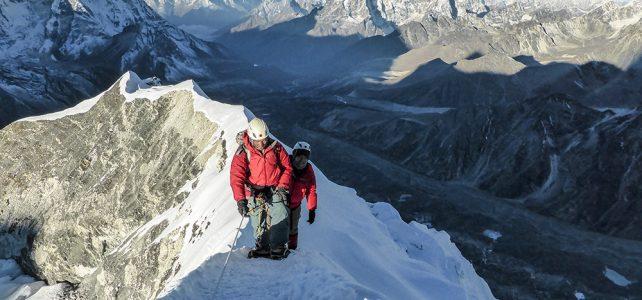 Das Island Peak Base Camp 5089 m steht wieder