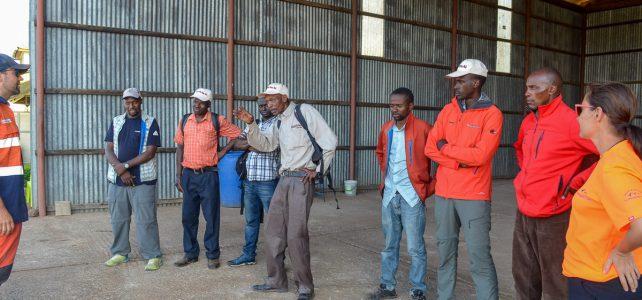Ausbildung für unsere Kilimanjaro Guides