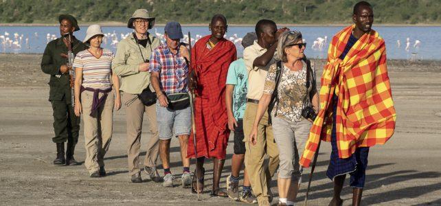 Zu Fuss unterwegs in Tansania