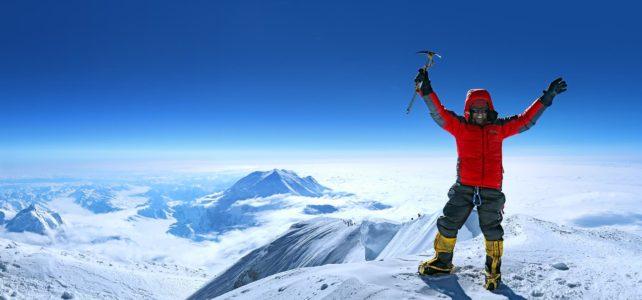 Hansruedi Büchi auf dem kältesten Berg der Welt