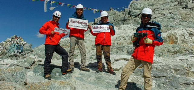 Wegsicherung am Cho La 5420 m fertig gestellt
