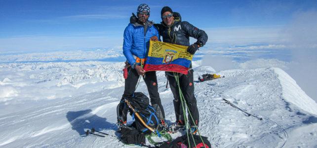 Karl Egloff schafft seinen vierten Rekord an einem Seven Summit