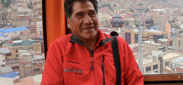 Portraitreihe Aktivferien Localguides – Federico Alvarado, Bolivien