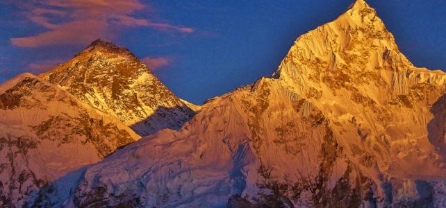 Wiedersehen mit dem Mount Everest