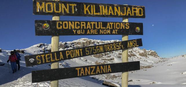 Weisse Weihnachten am Kilimanjaro