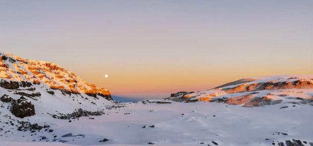 Schnee am Kilimanjaro
