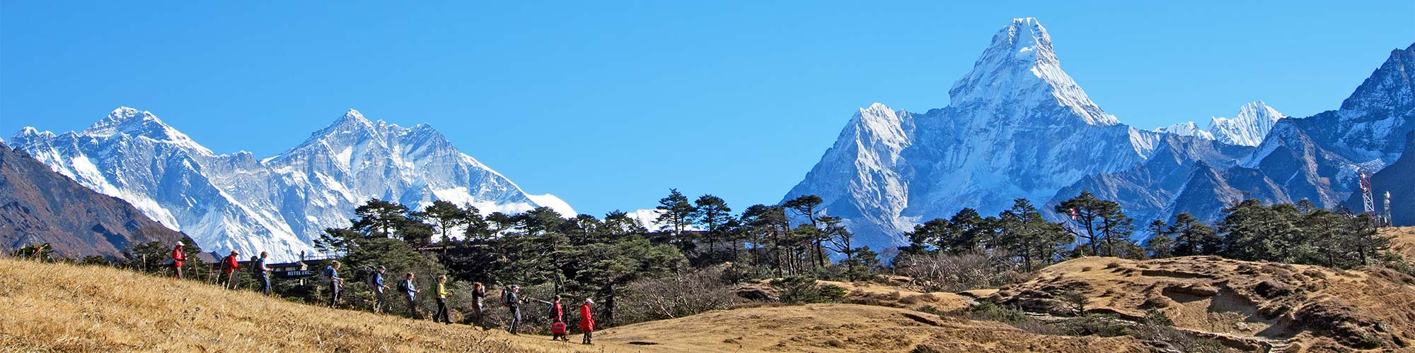 Everest-Trekking in Himalaya